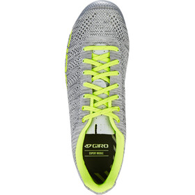 Giro Empire E70 Knit Chaussures Homme, grey heather/highlight yellow